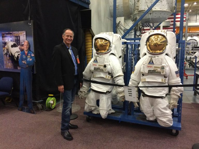 Jeff Haozous Visits NASA